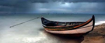 Barco no ancoradouro