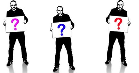 Três perguntas