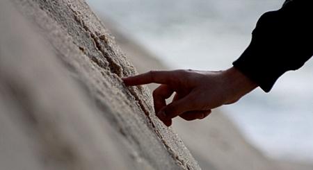Escrevendo na areia