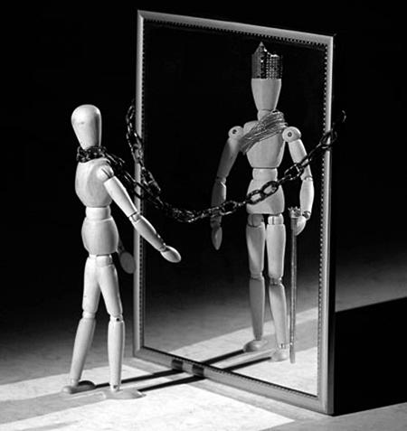 Prisão da falta de autoconfiança