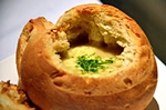 Sopa de cebola no pão italiano 2