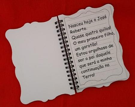Caderneta vermelha