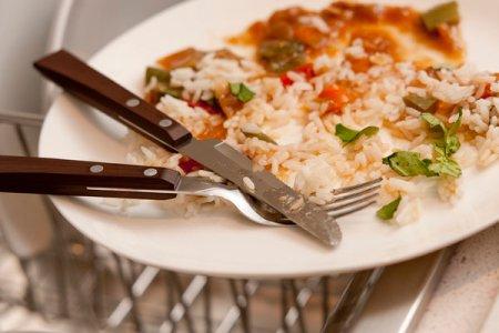 Comida no prato