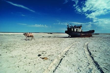 7.. Ela não existe mais - Mar de Aral